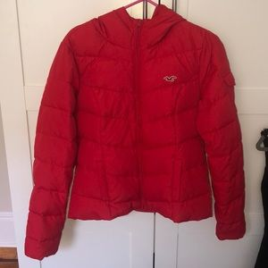 Hollister Hooded Puffer Jacket